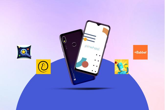 Four Fun Apps Found on a Pinwheel Phone