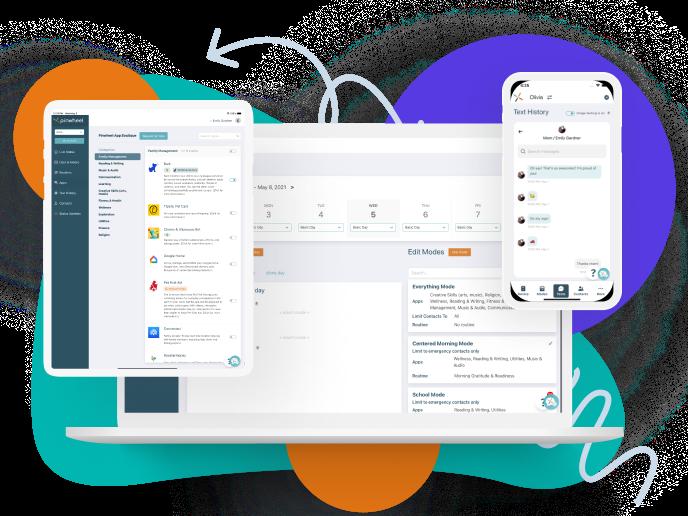 Caregiver Portal On Tablet, Desktop, And Mobile